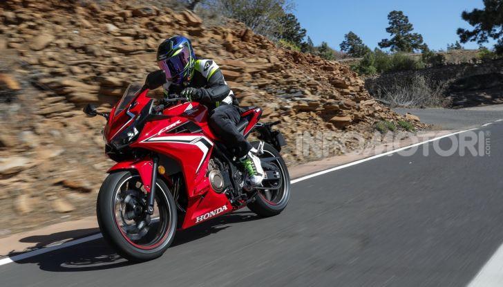 Prova Honda CBR500R e CB500F 2019: caratteristiche, opinioni e prezzi - Foto 115 di 123