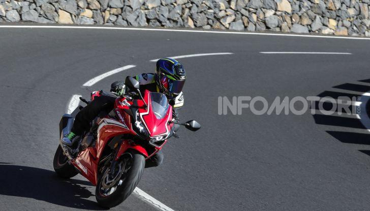 Prova Honda CBR500R e CB500F 2019: caratteristiche, opinioni e prezzi - Foto 119 di 123