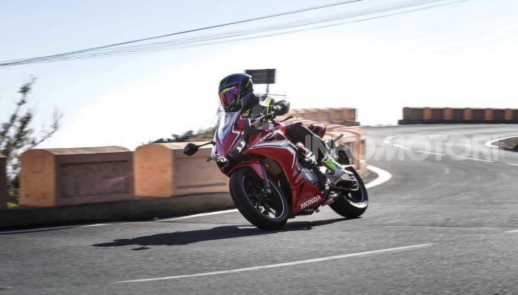 Prova Honda CBR500R e CB500F 2019: caratteristiche, opinioni e prezzi - Foto 122 di 123