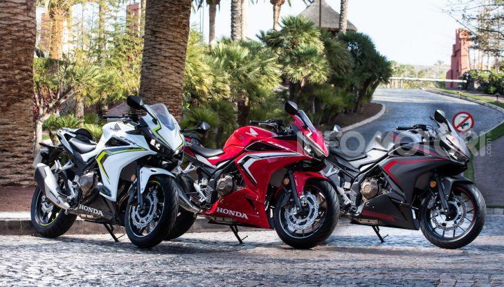 Prova Honda CBR500R e CB500F 2019: caratteristiche, opinioni e prezzi - Foto 43 di 123