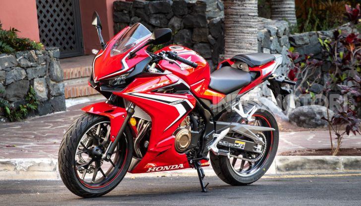 Prova Honda CBR500R e CB500F 2019: caratteristiche, opinioni e prezzi - Foto 45 di 123