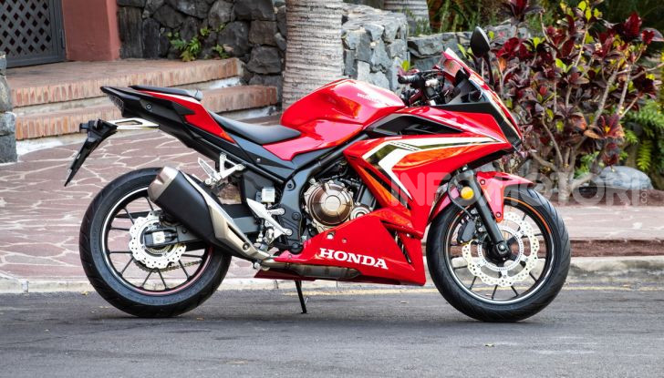 Prova Honda CBR500R e CB500F 2019: caratteristiche, opinioni e prezzi - Foto 46 di 123