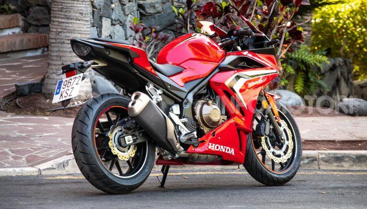 Prova Honda CBR500R e CB500F 2019: caratteristiche, opinioni e prezzi - Foto 47 di 123