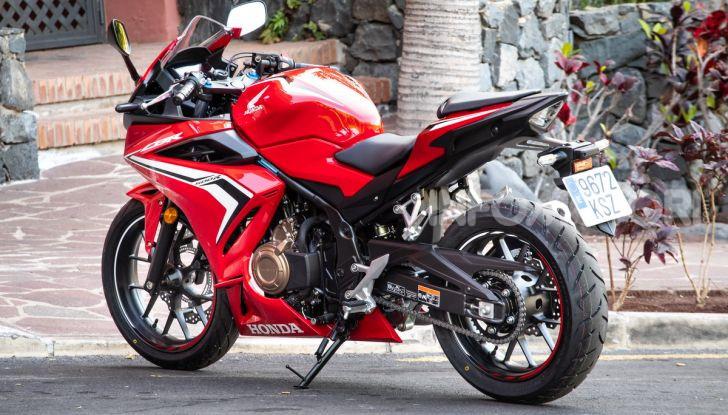 Prova Honda CBR500R e CB500F 2019: caratteristiche, opinioni e prezzi - Foto 48 di 123