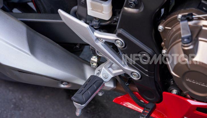 Prova Honda CBR500R e CB500F 2019: caratteristiche, opinioni e prezzi - Foto 54 di 123