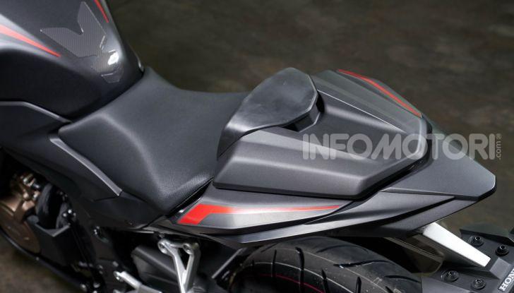 Prova Honda CBR500R e CB500F 2019: caratteristiche, opinioni e prezzi - Foto 63 di 123