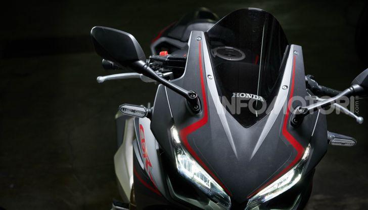 Prova Honda CBR500R e CB500F 2019: caratteristiche, opinioni e prezzi - Foto 69 di 123