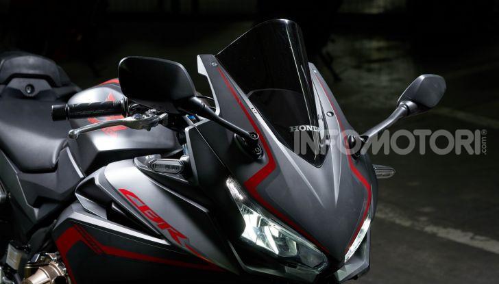 Prova Honda CBR500R e CB500F 2019: caratteristiche, opinioni e prezzi - Foto 70 di 123