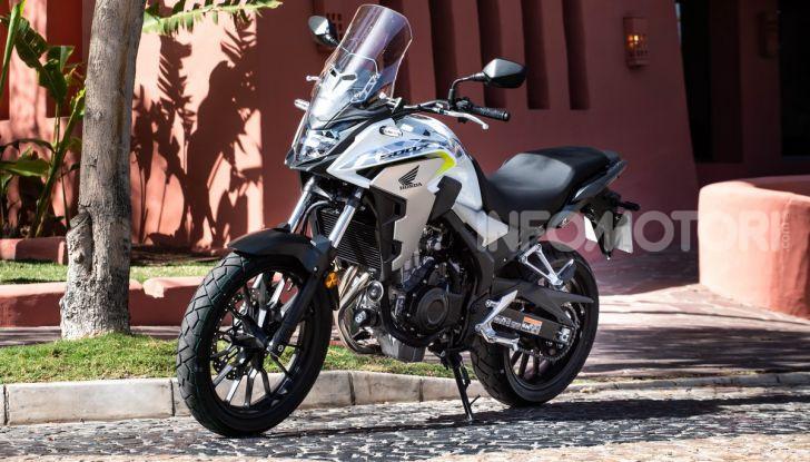 Prova Honda CB500X 2019: 19″ all'anteriore, caratteristiche, prezzo e impressioni - Foto 3 di 42