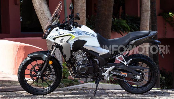 Prova Honda CB500X 2019: 19″ all'anteriore, caratteristiche, prezzo e impressioni - Foto 4 di 42