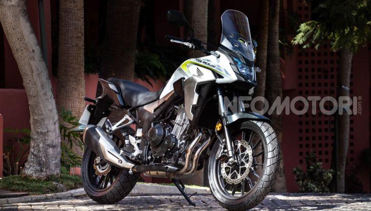 Prova Honda CB500X 2019: 19″ all'anteriore, caratteristiche, prezzo e impressioni - Foto 5 di 42