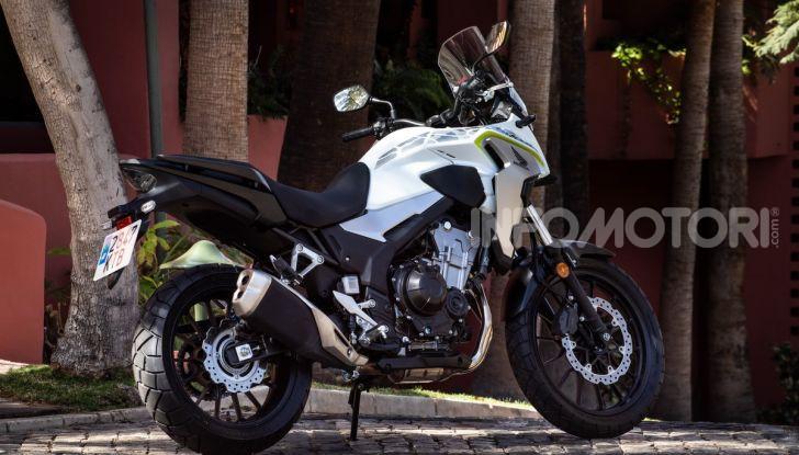 Prova Honda CB500X 2019: 19″ all'anteriore, caratteristiche, prezzo e impressioni - Foto 6 di 42