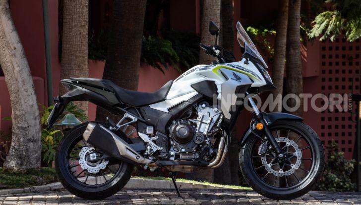 Prova Honda CB500X 2019: 19″ all'anteriore, caratteristiche, prezzo e impressioni - Foto 7 di 42
