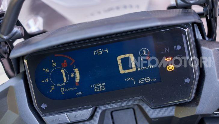 Prova Honda CB500X 2019: 19″ all'anteriore, caratteristiche, prezzo e impressioni - Foto 10 di 42