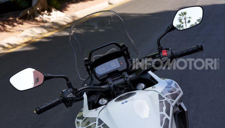 Prova Honda CB500X 2019: 19″ all'anteriore, caratteristiche, prezzo e impressioni - Foto 11 di 42