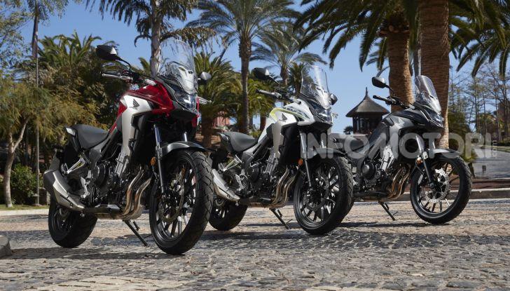 Prova Honda CB500X 2019: 19″ all'anteriore, caratteristiche, prezzo e impressioni - Foto 12 di 42