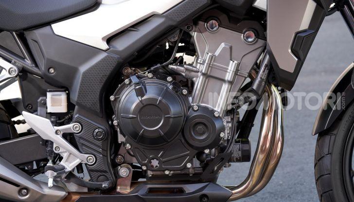 Prova Honda CB500X 2019: 19″ all'anteriore, caratteristiche, prezzo e impressioni - Foto 17 di 42