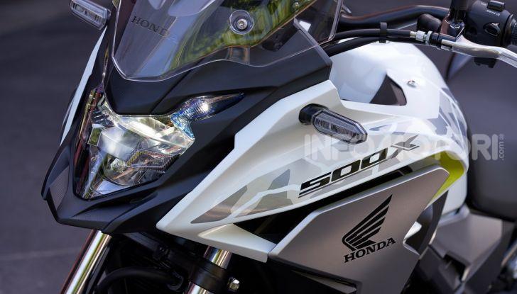 Prova Honda CB500X 2019: 19″ all'anteriore, caratteristiche, prezzo e impressioni - Foto 18 di 42