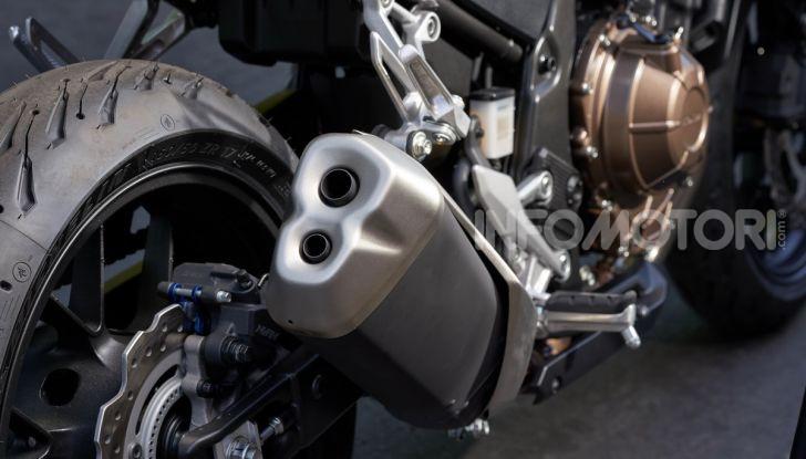 Prova Honda CB500X 2019: 19″ all'anteriore, caratteristiche, prezzo e impressioni - Foto 21 di 42