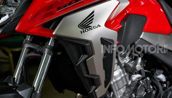Prova Honda CB500X 2019: 19″ all'anteriore, caratteristiche, prezzo e impressioni - Foto 32 di 42