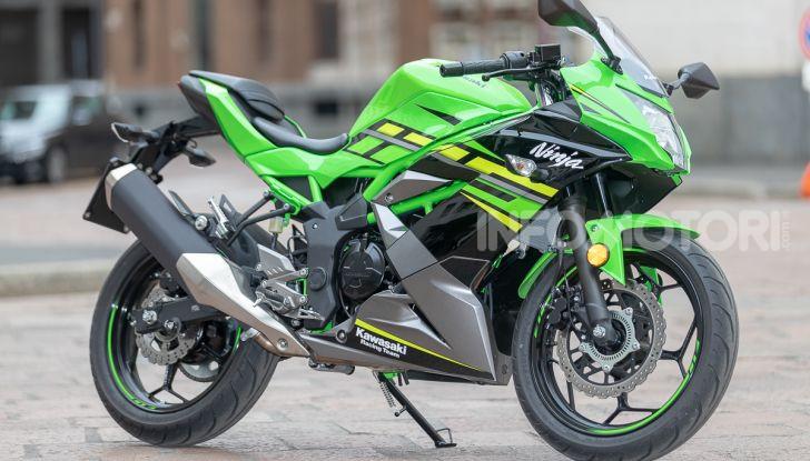Prova nuova Kawasaki Ninja 125 2019: che bello tornare sedicenni! - Foto 8 di 46