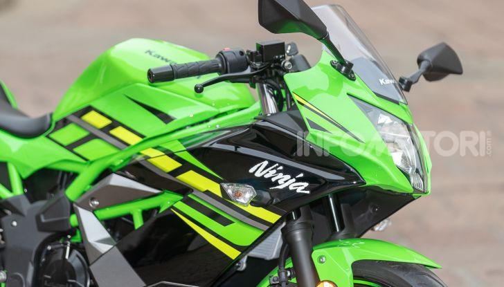 Prova nuova Kawasaki Ninja 125 2019: che bello tornare sedicenni! - Foto 9 di 46