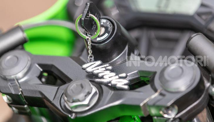 Prova nuova Kawasaki Ninja 125 2019: che bello tornare sedicenni! - Foto 10 di 46