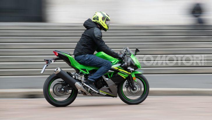 Prova nuova Kawasaki Ninja 125 2019: che bello tornare sedicenni! - Foto 12 di 46