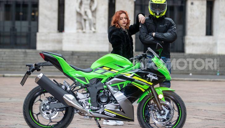 Prova nuova Kawasaki Ninja 125 2019: che bello tornare sedicenni! - Foto 15 di 46