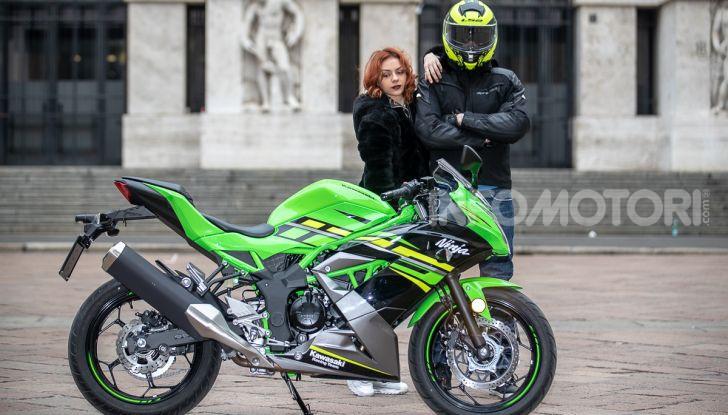 Prova nuova Kawasaki Ninja 125 2019: che bello tornare sedicenni! - Foto 16 di 46