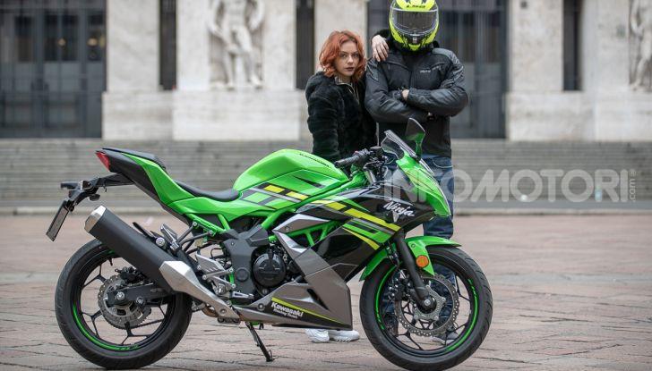 Prova nuova Kawasaki Ninja 125 2019: che bello tornare sedicenni! - Foto 17 di 46