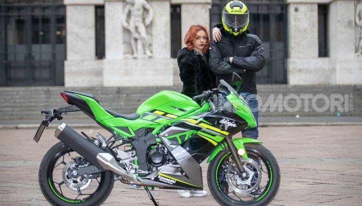 Prova nuova Kawasaki Ninja 125 2019: che bello tornare sedicenni! - Foto 18 di 46