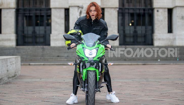 Prova nuova Kawasaki Ninja 125 2019: che bello tornare sedicenni! - Foto 19 di 46