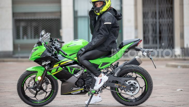 Prova nuova Kawasaki Ninja 125 2019: che bello tornare sedicenni! - Foto 25 di 46