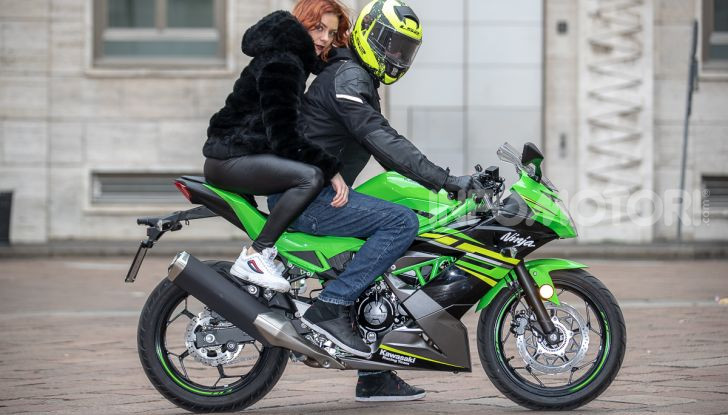 Prova nuova Kawasaki Ninja 125 2019: che bello tornare sedicenni! - Foto 27 di 46