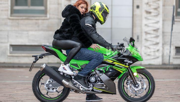 Prova nuova Kawasaki Ninja 125 2019: che bello tornare sedicenni! - Foto 29 di 46