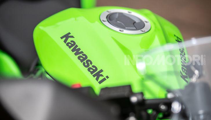 Prova nuova Kawasaki Ninja 125 2019: che bello tornare sedicenni! - Foto 40 di 46