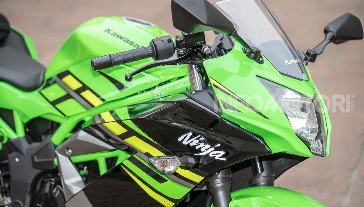 Prova nuova Kawasaki Ninja 125 2019: che bello tornare sedicenni! - Foto 41 di 46