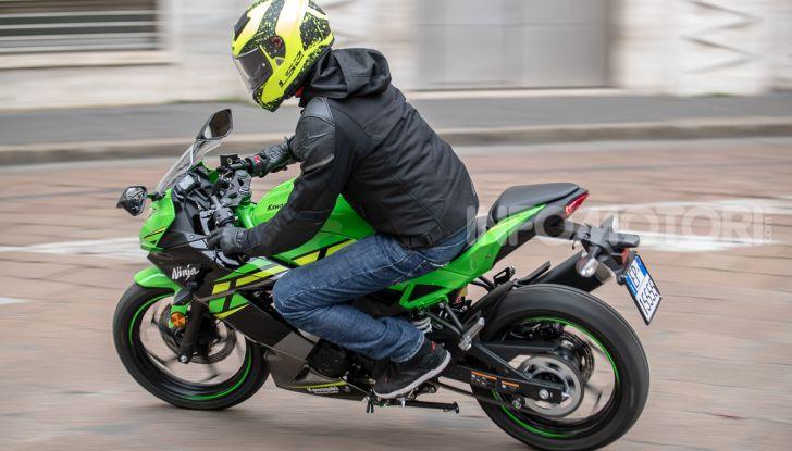 Prova nuova Kawasaki Ninja 125 2019: che bello tornare sedicenni! - Foto 42 di 46