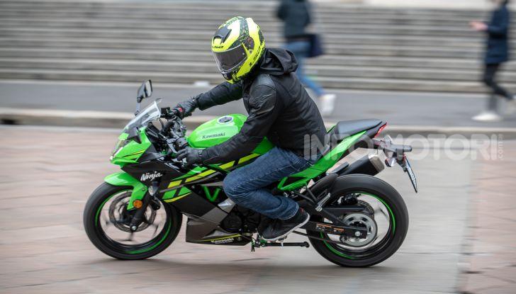 Prova nuova Kawasaki Ninja 125 2019: che bello tornare sedicenni! - Foto 43 di 46