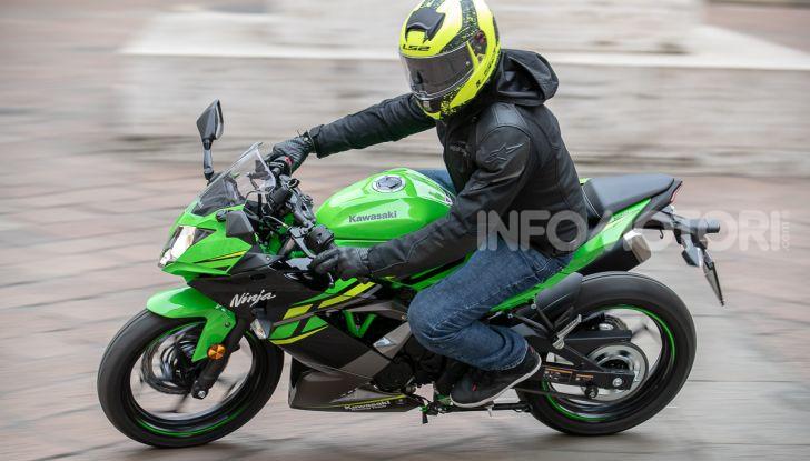 Prova nuova Kawasaki Ninja 125 2019: che bello tornare sedicenni! - Foto 44 di 46