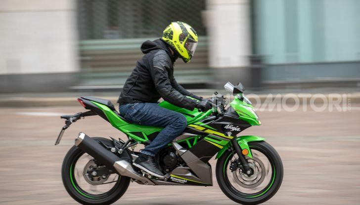 Prova nuova Kawasaki Ninja 125 2019: che bello tornare sedicenni! - Foto 46 di 46