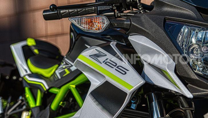 Kawasaki Z125 MY 2019: caratteristiche, opinioni e prezzo - Foto 42 di 43
