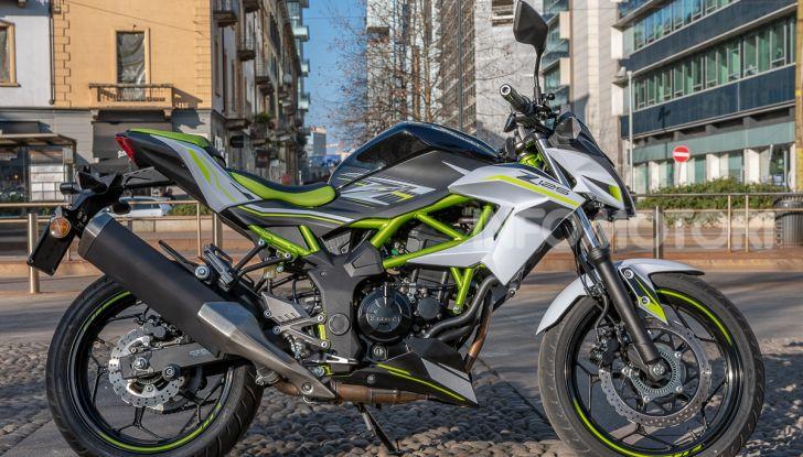 Kawasaki Z125 MY 2019: caratteristiche, opinioni e prezzo - Foto 2 di 43
