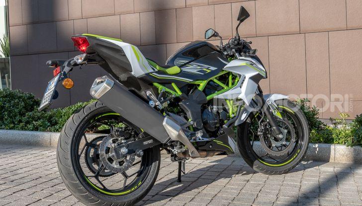 Kawasaki Z125 MY 2019: caratteristiche, opinioni e prezzo - Foto 5 di 43