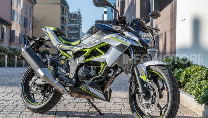 Kawasaki Z125 MY 2019: caratteristiche, opinioni e prezzo - Foto 6 di 43