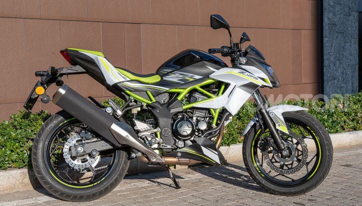 Kawasaki Z125 MY 2019: caratteristiche, opinioni e prezzo - Foto 8 di 43