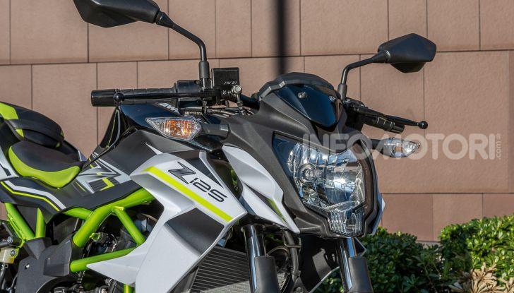 Kawasaki Z125 MY 2019: caratteristiche, opinioni e prezzo - Foto 11 di 43