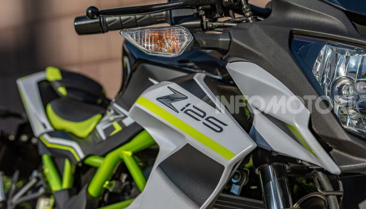 Kawasaki Z125 MY 2019: caratteristiche, opinioni e prezzo - Foto 12 di 43