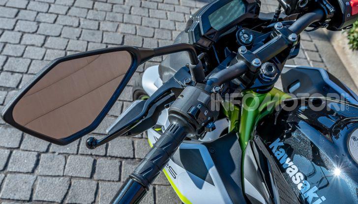 Kawasaki Z125 MY 2019: caratteristiche, opinioni e prezzo - Foto 19 di 43